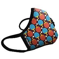 Vogmask N99CV时尚儿童防雾霾 pm2.5 防尘 防过敏源 户外运动旅行口罩 Ping Pong(超级乒乓)1只 S号(参考体重:25-50磅/11-22公斤)(进口)