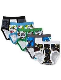 迪士尼小男孩玩具总动员5条装内裤