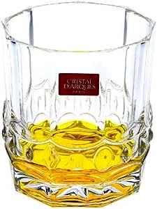 CRISTAL D'ARQUES法国CDA水晶 艾露尔威士忌杯300Ml 5668 (2只装)