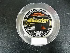 Sunline 63042052 射击器 4.44 千克。 Shooter, Natural Clear, 660 码