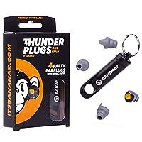 Bananaz Thunderplugs TP-DUO PACK 耳塞耳塞 听觉保护 音乐家