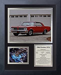 Legends Never Die 1964 Pontiac GTO 带框照片拼贴,27.94 x 35.56 厘米
