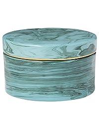 Rivet 现代陶瓷珠宝盒,6.98 cm 高,绿色