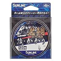 SUNLINE (SUNLINE) 碳素线 黑鲷 筏 锚 120m 1.75号 自然透明