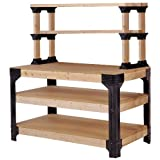 hopkins 90164 2x4基本款 workbench and shelving storage system 2 x 4 basics