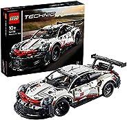 LEGO 樂高 拼插類玩具 Technic 機械組系列 Porsche 911 RSR賽車 42096 9歲+ 積木玩具