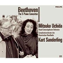 进口CD:贝多芬:钢琴协奏曲/内田光子(3CD) 4756757