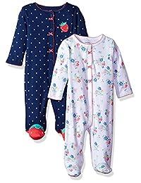 Carter's 女童 2 件装 棉质 睡衣 *和玩耍