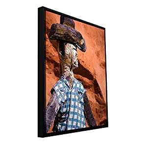 ArtWall 'Guardian of The West' Gallery Wrapped Canvas Art by Dean Uhlinger, 12.5 by 16.5-Inch