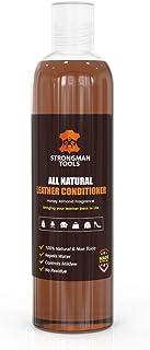 Strongman Tools USA| * *2合1皮革护发素和清洁剂 | 修复和修复家具、汽车、服装、鞋子、包和配件 | 美国制造(8盎司/瓶)