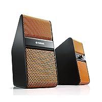YAMAHA 雅马哈 NX-50 迷你音响 多媒体有源音箱 电脑电视音箱 橙色(供应商直送)