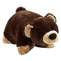 "Pillow Pets Signature、Mr. Bear、18"" 填充动物毛绒玩具"