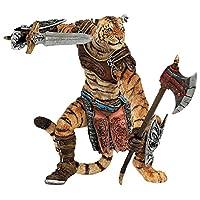 PAPO 法国 仿真收藏 动物模型 幻想世界系列 老虎战士 38954
