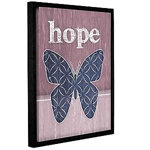 """Tremont Hill Jennifer Pugh""""Hope Butterfly""""可移除壁画,14X18"""