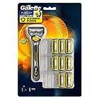 吉列(Gillette) 锋隐致护 手动剃须刀 含1刀架9刀头 213.62元