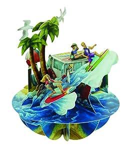 Santoro Pirouettes 弹出式卡 Beach and Surfing PS051