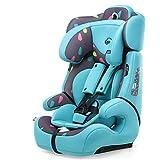 感恩 儿童安全座椅 汽车宝宝儿童安全坐椅 isofix硬接口 9月-12岁 松石蓝(供应商直送)