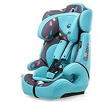 感恩 儿童安全座椅 汽车宝宝儿童安全坐椅 isofix硬接口 9月-12岁 松石蓝(亚马逊自营商品, 由供应商配送)