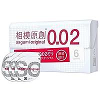 Sagami Original 相模原创 0.02避孕套/002安全套 标准码 6片装 成人用品/情趣用品(进口)