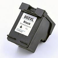 荣美 适用惠普HP802墨盒 HP 1000 1050 2000 2050 HP1510 HP2540 j410a j510a打印机墨盒 802XL大容量墨盒_黑色