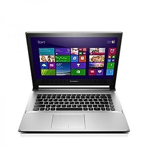 Lenovo Ideapad Flex 2-14 59-429728 14-inch Laptop (Core i3-4030U/4GB/500GB with 8GB SSD/Win 8.1), Grey