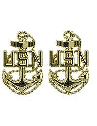 Artisan Owl 美国* USN CPO Chief Petty Officer 2.54 厘米翻领别针