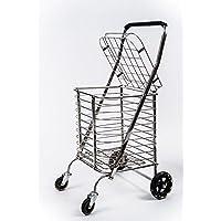 DH乐易行 四轮助力购物车买菜车爬楼可折叠小拉车家用手拉车手推车买菜拉杆车