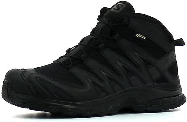SALOMON 男式 XA PRO MID GTX 徒步鞋 黑色 7.5 D(M) US