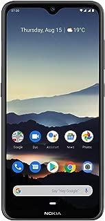 Nokia 诺基亚 7.2 6.3 英寸 Android UK SIM-Free 智能手机6830AA002376 Nokia 7.2 Charcoal 炭黑色