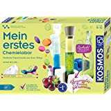 KOSMOS 我的*个化学实验室,日常生活中的简单实验,水晶实验室和彩色实验室,实验盒适合8岁以上儿童