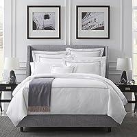 Sferra 的 Grande Hotel - 标准枕套 55.88x83.82(白色/灰色)