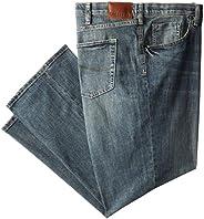 Lee Men's Big-Tall Modern Series Custom Fit Relaxed Straight Leg Jean, Santiago, 44W x