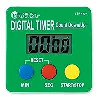 Learning Resources LER4339 数字计时器 反向/前计数