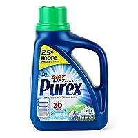 Purex 普雷克斯 常规洗衣液(山野微风)1.47L (适合每日洗涤 温和不伤面料 无氯无磷 低泡超浓缩 1瓶抵3瓶 真丝羊毛羽绒服全能洗)(进口)(亚马逊自营商品, 由供应商配送)
