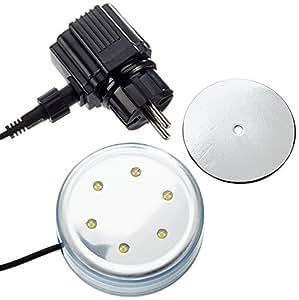 Steinbach 060050 LED 台灯,适用于立式游泳池 230 V / 12 V 磁性紧固直径 87 毫米