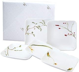 【NARUMI原装包装】NARUMI(NARUMI)里花历(樱桃) 方形板套装 11cm 40912-32981AZ 日本制造