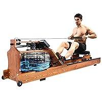 Kansoon 凯速 高端木质水阻划船机 家用纸牌屋同款液阻健身训练器材 阻力可以调节智能静音有氧运动划船器健身器材 【顺丰包邮】