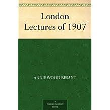 London Lectures of 1907 (免费公版书) (English Edition)