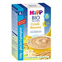 HiPP 喜寶 Bio牛奶麥片粥不含糖,6個月以上適用,4盒 (450g*4)