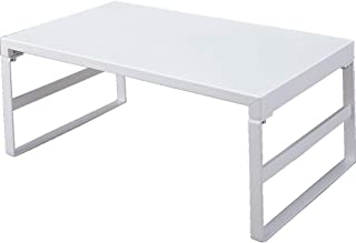 LIHIT LAB 桌面支架(显示器支架) 9.8 x 15.4 x 6.3 inches 白色