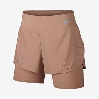 Nike 女式 W Nk Eclipse 2 合 1 短裤