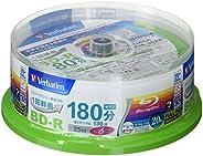 三菱ケミカルメディア Verbatim 1回録画用 BD-R VBR130RP20SV1 (片面1層/1-6倍速/20枚)
