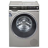siemens 西门子 10公斤 变频滚筒洗衣机(缎光银) 智能添加 wifi智能互联 全触控面板 WM14U669HW