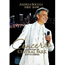 安德烈•波切俐 Andrea Bocelli:纽约中央公园演唱会 Concerto, One Night in Central Park(DVD)