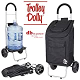 dbest products Trolley Dolly, Black