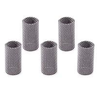 Beler 5 件不锈钢发光针头燃烧器滤网适用于Eberspacher Airtronic 加热器 252069100102 银色 SHEZ179