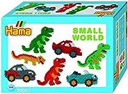Hama Beads 小型世界恐龍和汽車