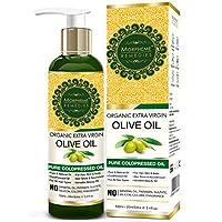 Morpheme 有机额外天然橄榄油(纯冷热油)适合*、身体、护肤、按摩、睫毛 120 毫升 120ml