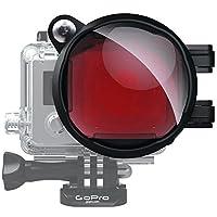 Polar Pro SWCH2-H3+ 红色潜水滤镜+微距拍摄,Hero4、3+型号相机 40米标准保护盒 (红色)