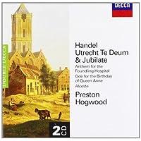 进口CD:亨德尔:乌得勒支感恩赞(2CD)(4580722)